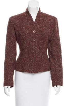 Kenzo Paisley Wool Blazer