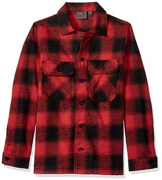 Naked & Famous Denim Men's Workshirt-NEP Buffalo Check