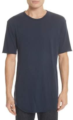 Rag & Bone Hartley Crewneck Cotton & Linen T-Shirt