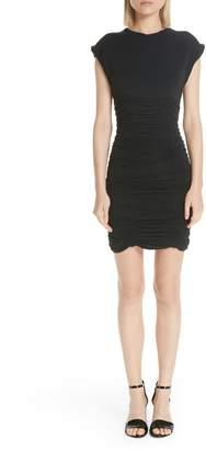 Alexander Wang Ruched Jersey Minidress