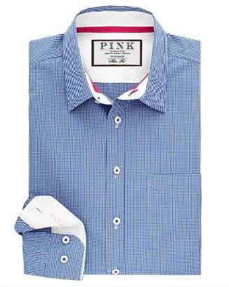 Thomas Pink Longitude Check Dress Shirt - Bloomingdale's Regular Fit