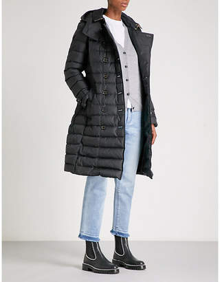 Burberry Dalmerton quilted shell down coat