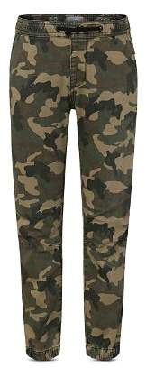 DL1961 Boys' Jackson Thunderbird Twill Camo-Print Jogger Pants - Big Kid