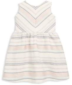 Petit Lem Little Girl's Striped Dress