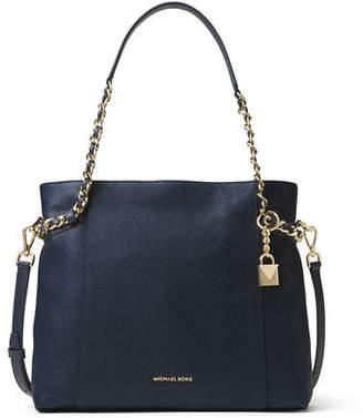 MICHAEL Michael Kors Remy Medium Leather Shoulder Tote Bag