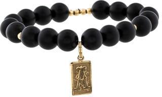 ArmentaArmenta 14K Onyx Bead Bracelet