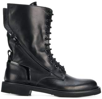 Bruno Bordese zipped boots