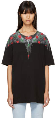 Marcelo Burlon County of Milan Black Lonco T-Shirt