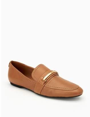 Calvin Klein orianna leather loafer