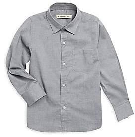 Appaman Boy's Pindot Casual Cotton Button-Down Shirt