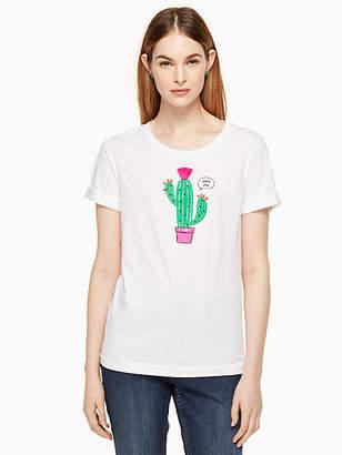 Kate Spade Cactus tee