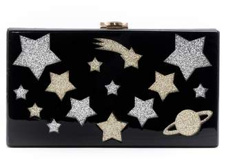 Like Dreams Glitter Star Box Clutch