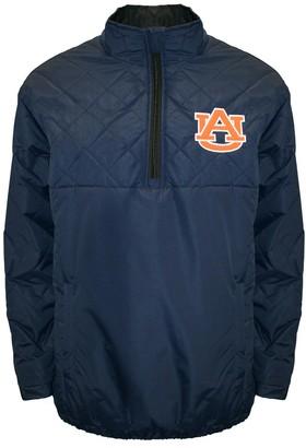 Adult Franchise Club Auburn Tigers Clima Quarter-Zip Jacket