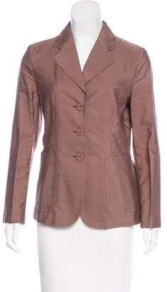 Bottega Veneta Lightweight Notch-Lapel Blazer