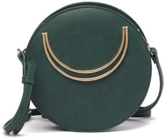 Street Level Circular Crossbody Bag