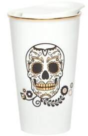 Core Home Manna Day of the Dead Ceramic To-Go Mug