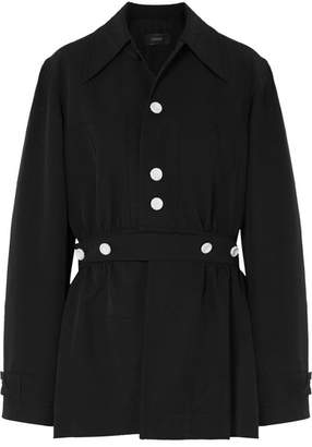 Hewitt Convertible Crinkled-canvas Coat - Black