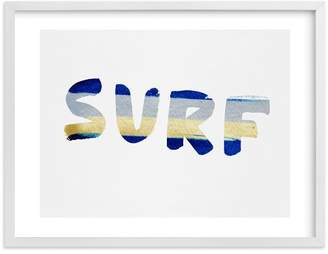 Pottery Barn Teen Surf And Sun Wall Art by Minted®, 16 x 20, White