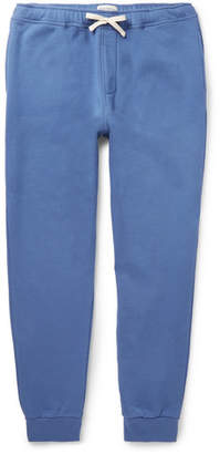 Oliver Spencer Loungewear Harris Slim-Fit Tapered Cotton-Jersey Sweatpants