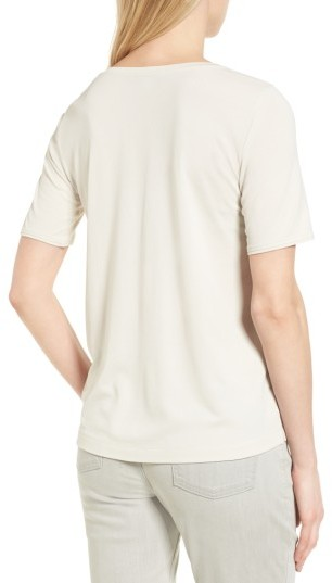 Women's Eileen Fisher Silk Tee 5