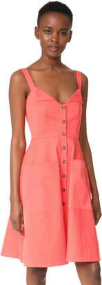 Saloni Fara Short Dress $430 thestylecure.com