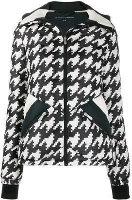 Perfect Moment Apres Duvet houndstooth jacket