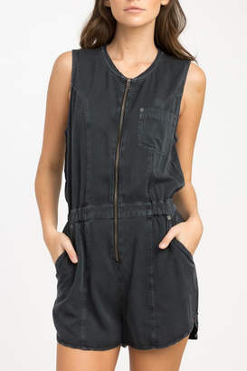 RVCA Hitched Woven Romper