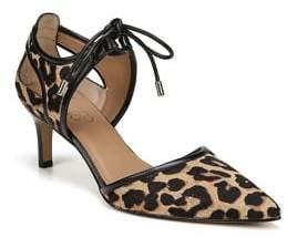 Franco Sarto Darlis2 Leopard Print Calf Hair Pumps
