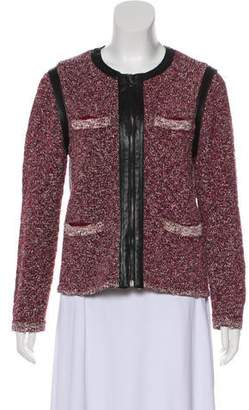 Rag & Bone Textured Zip-Up Jacket