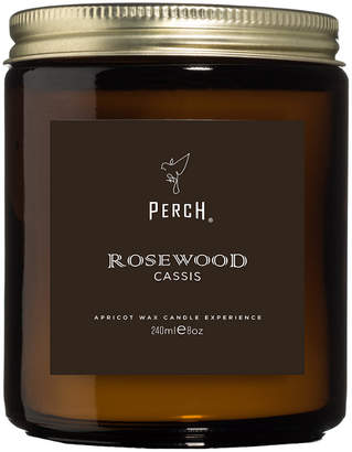 Perch Rosewood Cassis Classic Amber Candle