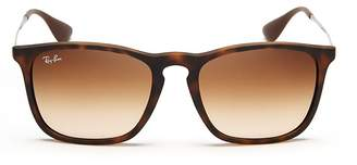 Ray-Ban Rubberized Youngster Wayfarer Sunglasses, 54mm $140 thestylecure.com