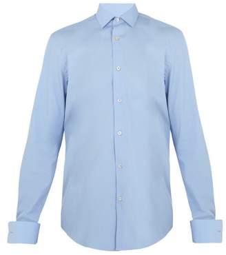 Paul Smith Double-cuff cotton-poplin shirt