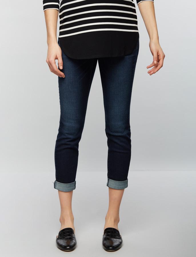 A Pea In The PodLuxe Essentials Denim Secret Fit Belly Boyfriend/girlfriend Maternity Jeans