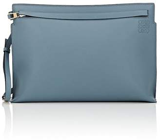 Loewe Women's T Large Leather Pouch