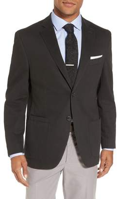 JKT NEW YORK Trim Fit Stretch Cotton Blazer