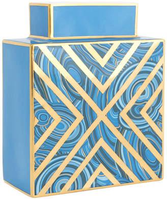 Jonathan Adler Malachite X Vase