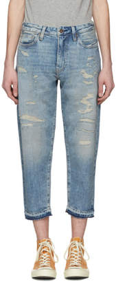 Levi's Levis Made and Crafted Blue Banzai Pipeline Draft Taper Jeans