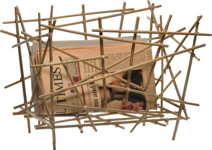 Alessi Blow up - Bamboo collection, Magazine holder