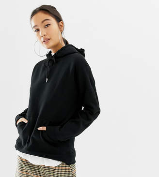 New Look oversized hoody in black