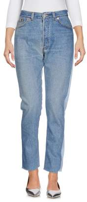 Levi's RE/DONE by Denim trousers