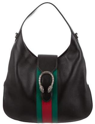 5febc64b484f04 Gucci Dionysus Leather Hobo Bag - ShopStyle