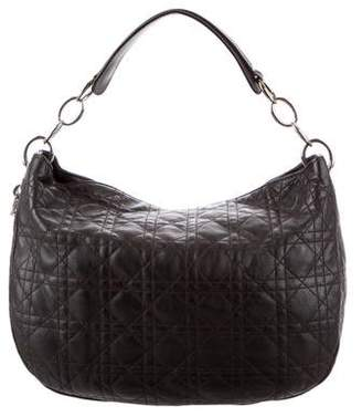 Christian Dior Quilted Leather Hobo