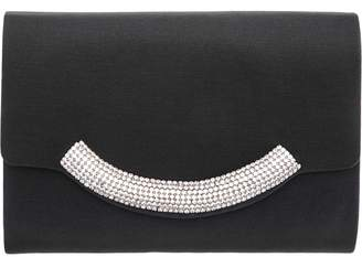 Nina Faille Crystal-Embellished Clutch - Margaux