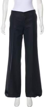 Calvin Klein Mid-Rise Wide Leg Pants