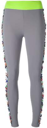 NO KA 'OI No Ka' Oi floral embellished leggings
