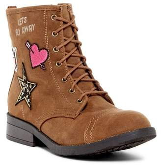 Steve Madden In Charge Lace-Up Boot (Little Kid & Big Kid)