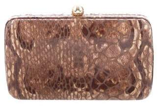 Tory Burch Embossed Evening Clutch