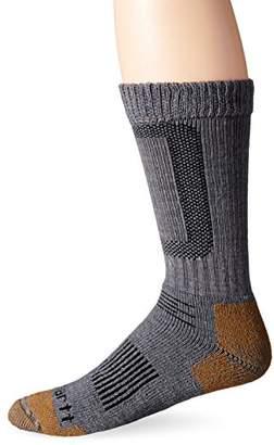 Carhartt Men's Merino Wool Steel Toe Crew Socks