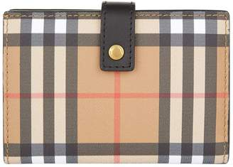 Burberry Rectangular Leather Wallet