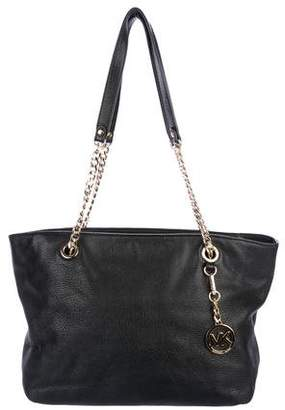 MICHAEL Michael Kors Graine Leather Tote
